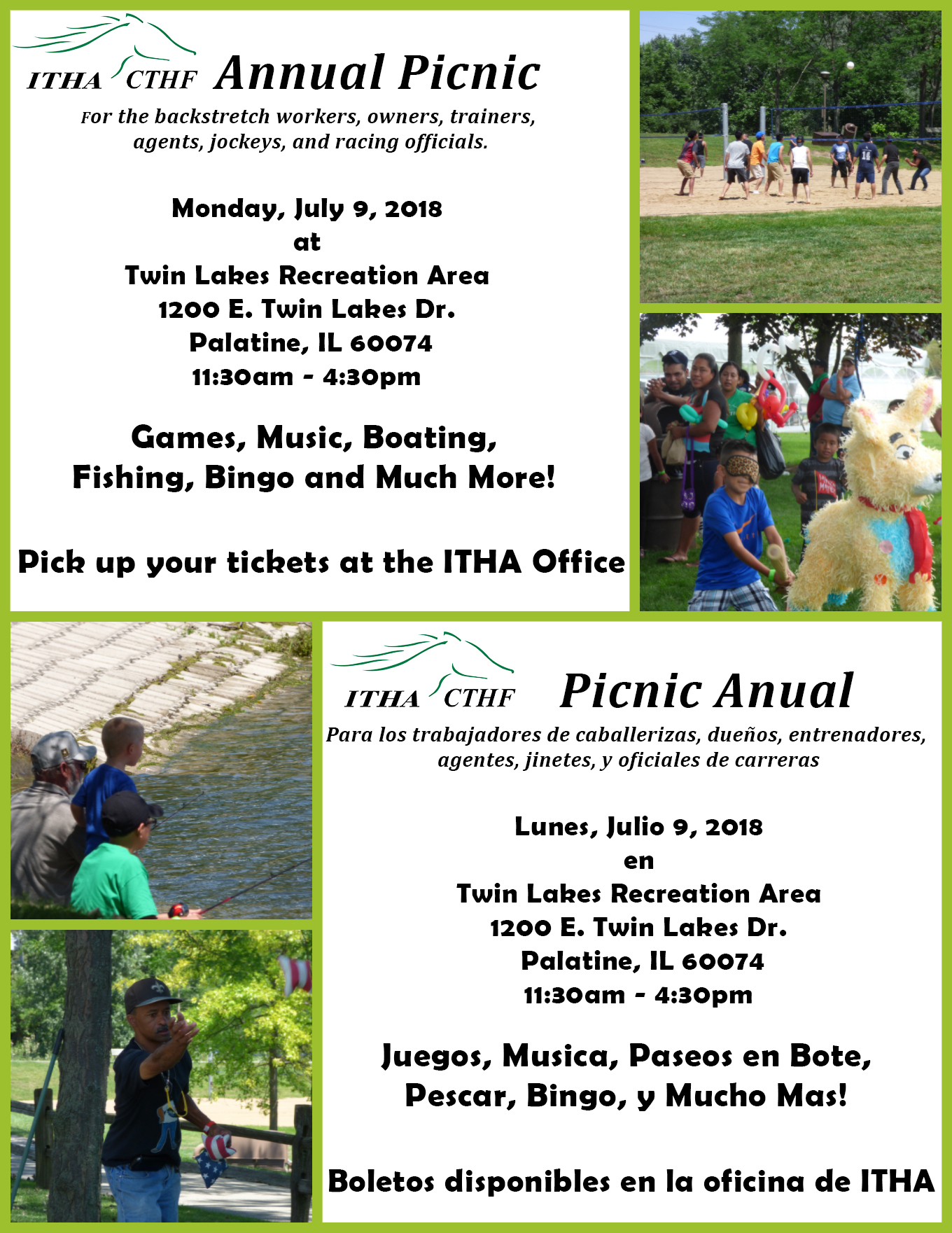 2018 CTHF Picnic Flyer